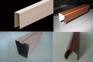 木纹铝方通种类