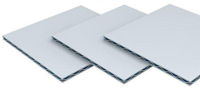 银色瓦楞铝板