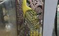 铝板雕刻镂空孔雀东南飞艺术屏风