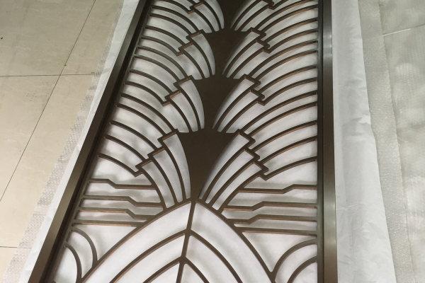 3mm金属色镀铜铝单板雕刻板