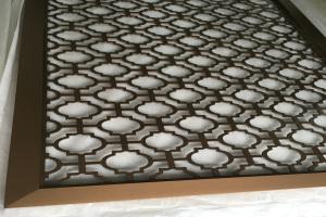 中式花格造型雕刻铝板