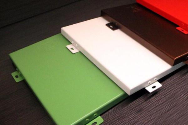 多种颜色烤瓷铝单板