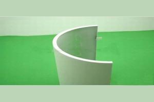 弧形铝单板包柱
