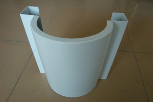 半圆包柱铝单板