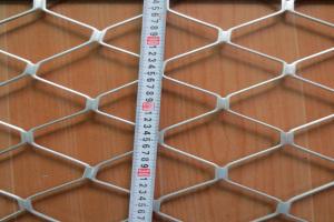 单层铝拉伸网对角线长度