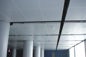 大厅勾搭铝单板吊顶