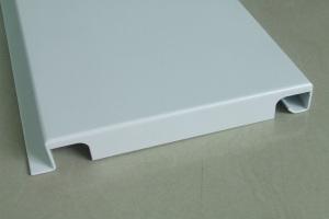 白色勾搭铝单板