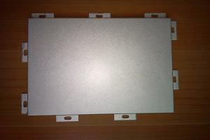 外墙留缝铝蜂窝板正面