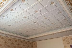 大厅凹凸型二级铝天花吊顶