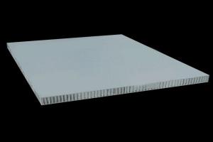 白色复合铝蜂窝板