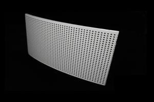 弧形冲孔铝蜂窝