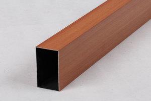 100*50木纹铝方通矩管