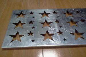 五星冲孔铝单板