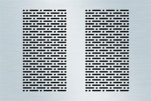 椭圆孔铝板