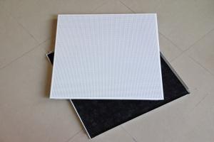 600*600直排冲孔铝扣板