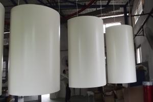 粉末喷涂圆形包柱铝单板