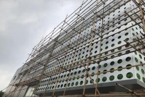外墙冲大孔铝单板幕墙