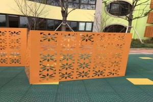 铝合金雕花镂空空调罩