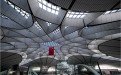中庭球形玻璃顶和造型骨架