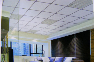 休闲室吊顶明架跌级铝板