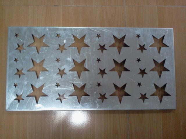 铝板星型冲孔