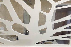 叶脉图案雕刻镂空铝单板
