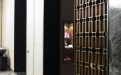 套房间内立式古铜铝屏风