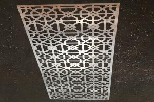 铜钱孔镂空铝单板