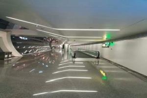 机场快速通道铝单板吊顶