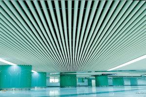 深圳地铁1号线吊顶铝圆管