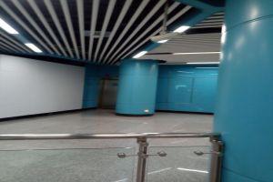 地铁蓝色墙面烤瓷铝单板