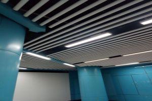 地铁吊顶铝圆管