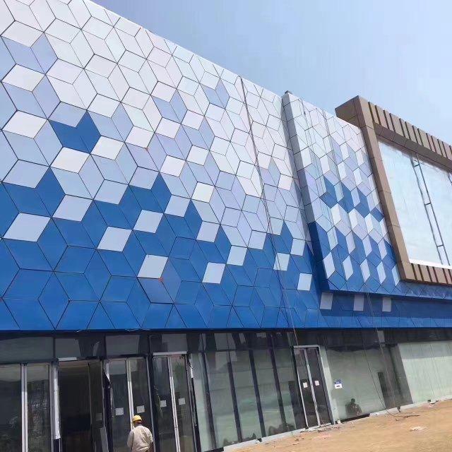 万达广场专用蓝天白云外墙铝单板
