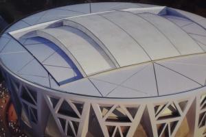 体育馆天面铝单板