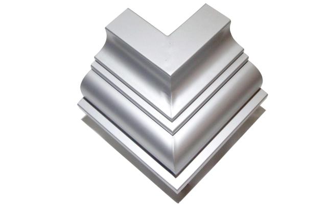 别墅阳台线条角线铝单板