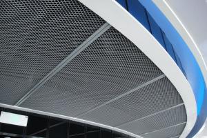 吊顶拉网铝单板
