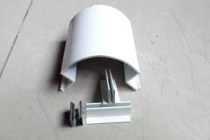 圆形转角包边铝型材及配件