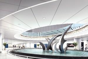 机场VIP区造型铝单板