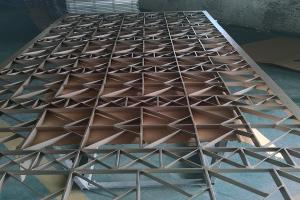压铸铝窗花(未抛光打磨)