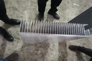 超大号铝合金扇热片(毛坯)