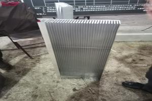 铝合金散热型材正面