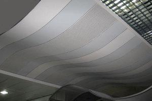 弧形冲孔铝单板
