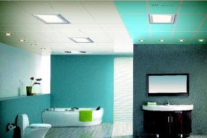 卫生间白色铝扣板天花
