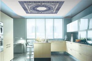 厨房饭厅吊顶铝扣板