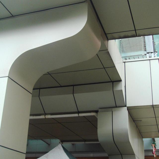 白色幕墙铝单板