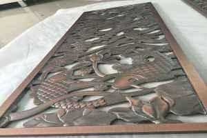 雕刻铝板和仿古铜