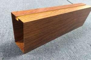 抽真空木纹加工成品