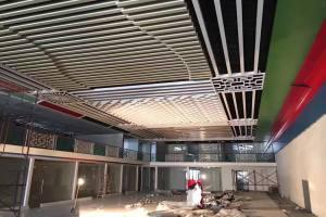 铝方通吊顶安装