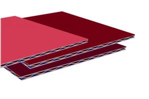 铝瓦楞锥心三维太空板