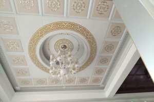 家装大厅圆顶二级天花